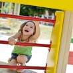 Climbing girl — Stock Photo