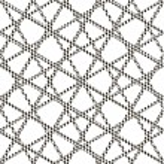 Постер, плакат: Seamless patterned grille