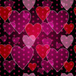 Seamless valentine pattern — Stockvectorbeeld