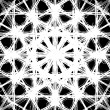 Ornate decorative snowflake  — Stockvectorbeeld
