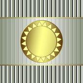 Gold Award — Stock Vector