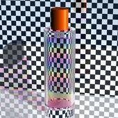 Regenboog in een glazen fles — Stockfoto
