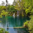 Plitvice lakes in Croatia - Stock Photo