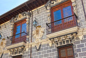 Retro architecture at Granada Spain — Stock Photo