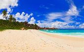 Panorama of tropical beach — Stock Photo