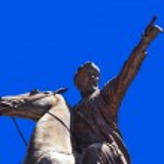 Statue in Antalya Turkey — Stock Photo