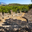 Old amphitheater Phaselis in Antalya, Turkey — Stock Photo