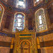 Hagia Sophia interior at Istanbul Turkey - Stockfoto