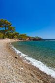 Playa de phaselis en antalya, turquía — Foto de Stock