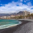 Beach in Tenerife island - Canary - Stock Photo