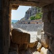 Ancient amphitheater in Myra, Turkey — Stock Photo #13410473