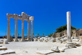 Old ruins in Side, Turkey — Stock Photo