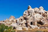 Goreme cave city in Cappadocia Turkey — Stock Photo