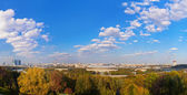 Panorama of Moscow Russia — Stock Photo