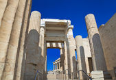 Entrance to Acropolis at Athens, Greece — Stock Photo