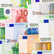 Euro money background — Stock Photo #13526364