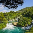 Waterfall KRKA in Croatia — Stock Photo #13544510