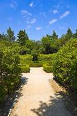 Pathway in park at Croatia — Stock Photo