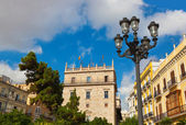 Plaza de la Reina - Valencia Spain — Stock Photo