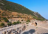 Ancient amphitheater in Ephesus Turkey — Stock Photo