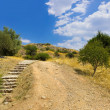 Pathway to Mycenae ruins, Greece — Stock Photo