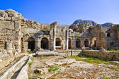 Ruins in Corinth, Greece — Stock Photo