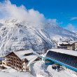 Mountain ski resort Hochgurgl Austria — Stock Photo #13639582