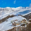 Mountain ski resort Obergurgl Austria — Stock Photo