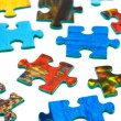 Pieces of puzzle — Foto de Stock