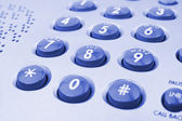 Phone keypad — Stock Photo