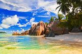 Beach Source d'Argent at Seychelles — Stock Photo