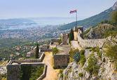Antigua fortaleza en split, croacia — Foto de Stock