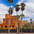 Hotel in Tenerife island - Canary — Stock Photo