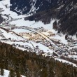 Mountains ski resort Solden Austria — Stock Photo