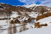 Montañas de esquí de sölden austria — Foto de Stock