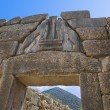 Lion Gate at Mycenae, Greece — Stock Photo