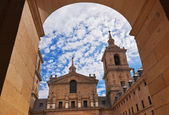 Castle Escorial near Madrid Spain — Stock Photo