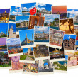 Stack of Istanbul Turkey travel images — Stock Photo