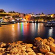 Stock Photo: Old town Kaleici in Antalya, Turkey at night