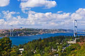Bosphorus bridge in Istanbul Turkey — Stock Photo