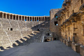 Old amphitheater Aspendos in Antalya, Turkey — Stock Photo