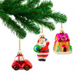 Royalty-Free Stock Photo: Christmas tree and toys