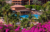 Pool at Tenerife island - Canary — Stock Photo
