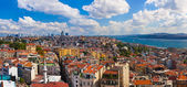 Istanbul Turkey panorama — Stock Photo
