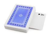 Deck of playing cards — Stock Photo