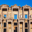 Ancient Celsius Library in Ephesus Turkey — Стоковая фотография