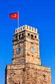 Famous tower in Antalya Turkey — Stock Photo