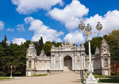Dolmabahce Palace at Istanbul Turkey — Stock Photo