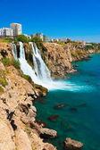 Waterfall Duden at Antalya, Turkey — Stock Photo