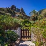 Hermigua valley in La Gomera island - Canary — Stock Photo